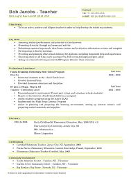 Samples Writing Guide Bright Ideas by Example Elementary Teacher Resume Elementary Teacher