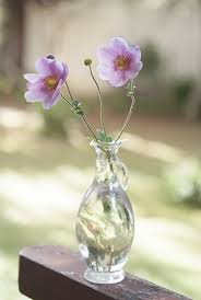 Flowers Glass Vase Free Photo Glass Vase Flowers Pink Plant Free Image On