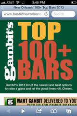 Top Bars New Orleans 100 New Orleans U0027 Best Bars 2013 Food U0026 Drink Features Gambit