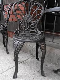 White Cast Iron Patio Furniture Best 25 Wrought Iron Chairs Ideas On Pinterest Modern Irons