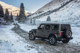 jeep wrangler snow the jl is here 10 things you need to know about the all new 2018