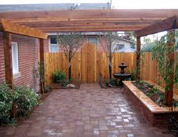 backyards gorgeous small backyard courtyard designs 118 best the fence was installed 10 in from the alley easement to