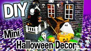 Diy Halloween Ornaments Diy Halloween Decor Miniature Dollhouse Kit Cute Roombox With