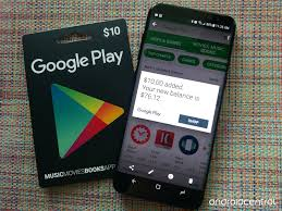 mobile gift cards how to use a play gift card android central