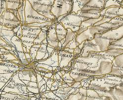 map of oldham history of oldham in lancashire map and description