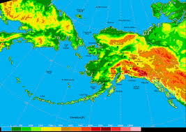 A Map Of Alaska by Wpc U0027s Alaska Extended Forecast Discussion