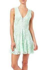 free people reign over me embroidered fit and flare dress