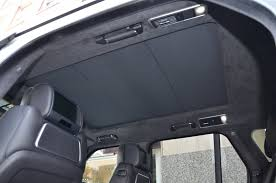 range rover sunroof open 2014 land rover range rover autobiography stock b801a for sale