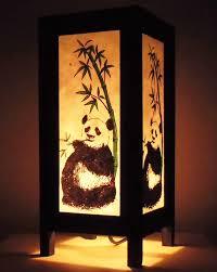 Thai Home Decor by Thai Vintage Handmade Asian Oriental Handcraft Lovely Panda