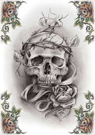 skull tattoo art in 2017 real photo pictures images and