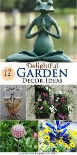 Unique Garden Decor 12 Ideas How To Create Unique Garden Art From Junk Garden Art