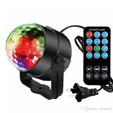 sound activated dj lights stage lights dj lights disco party ball lights blingco led rotating