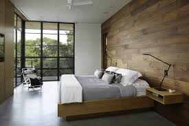 great modern bedroom with modern furniture pieces and hanging
