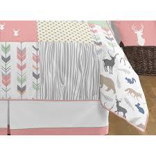 Elephant Twin Bedding Bed U0026 Bedding Sweet Jojo Designs Mod Elephant 9 Piece Crib