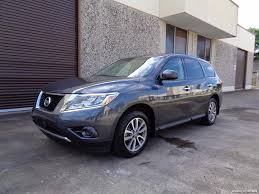 nissan pathfinder front bumper 2014 nissan pathfinder s for sale in houston tx stock 15199