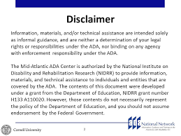 Disclaimer by Presentation Disclaimer Template Presentation Disclaimer Template