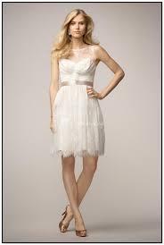 off white short wedding dresses