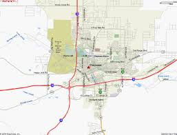 wy map map of cheyenne wy
