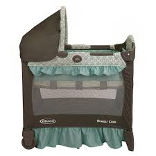 Cribs With Mattress Included by Graco Travel Lite Ultra Comfy Crib With Stages Two Level Bassinet