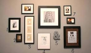hanging picture frames ideas photo wall ideas without frames photo wall ideas without frames