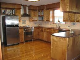 Ranch Kitchen Design by Sapphire Brown Granite Countertop With Ebony Cabinets Hottest Home
