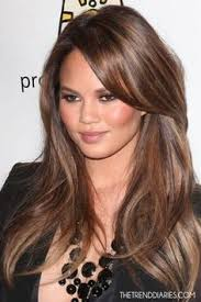 layered highlighted hair styles milk chocolate hair with highlights milk chocolate face