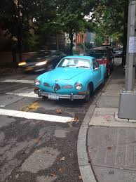 karmann ghia 1973 nyc hoopties whips rides buckets junkers and clunkers sometimes