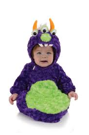 Newborn Halloween Costumes 0 3 Months Purple Monster Bunting Baby Costume Costumes