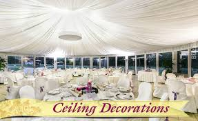 7 ideas on how to decorate a reception hall to make it stand out