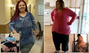 lupe from my 600 lb life my 600 lb life stars lose half their weight along with unsupportive