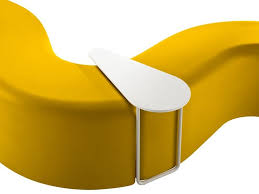 Bench Material Modular Synthetic Material Garden Bench Churros Out By Chairs