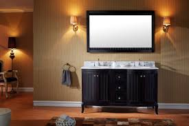 virtu usa khaleesi 60 double bathroom vanity set in espresso