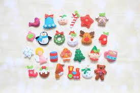 ornaments for advent calendar decoration