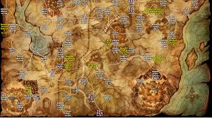 Online World Map by Online World Map Updated General Discussion Tree Of Savior