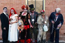 take a creepy twilight stroll with the zombies of downtown phoenix