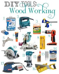 Woodworking Machinery Used by Essential Woodworking Tools For Beginners A Wishlist On Diane U0027s