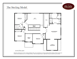 builders floor plans the sterling floor plans in new houses available in warwick pa