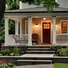 Black Front Door Ideas Pictures Remodel And Decor by Traditional Exterior Front Porch Design Ideas Pictures Remodel