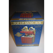 mr christmas pop up music box train christmas decoration cookie
