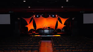 concert lighting design schools pipe and drape stage curtains track and rigging georgia stage