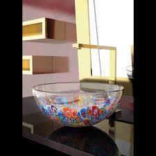 laguna murrine glass vessel sink