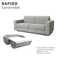 casanova canapé canap convertible 120 cm de large lit en cm de large lit cm