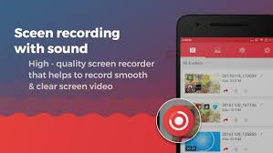 screenshot on android screen recorder with audio and editor screenshot android apps