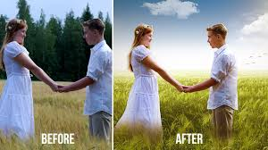wedding backdrop chagne wedding photos editing in photoshop change background