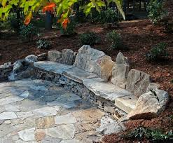 unique rock benches for garden 17 best ideas about rock wall on