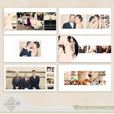 wedding album templates wedding album template for photographers 35 00 via etsy