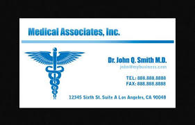 Dental Business Card Designs 14 Awesome Business Card Template For Doctors Sample Templates