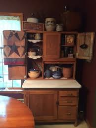 kitchen cabinet 1800s 1800 s hoosier cabinet display with an antique butter churn