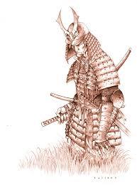 coloring fabulous drawings samurai warrior