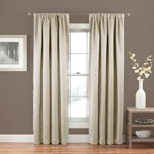 Drapery Outlets Eclipse Solid Thermapanel Room Darkening Curtains Stone Grey